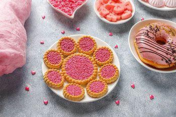 Leckereien - Süßigkeiten, Schokolade, Lutscher