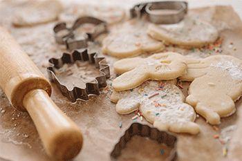 Moldes de pasteles y cortadores de galletas