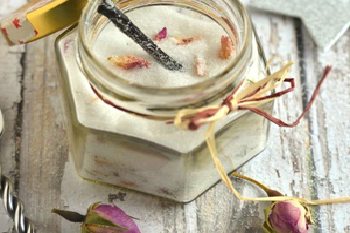 Zucchero aromatizzato per yogurt, torte, dessert