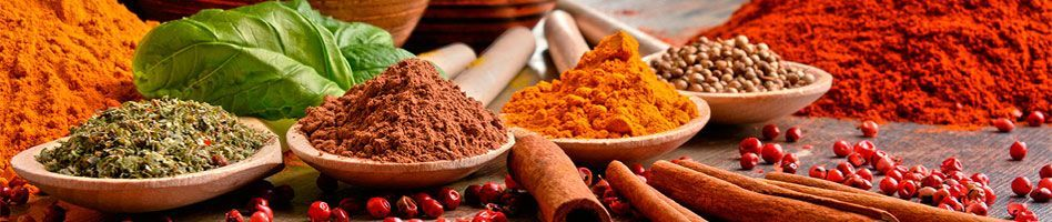 Organic spices - Natural products