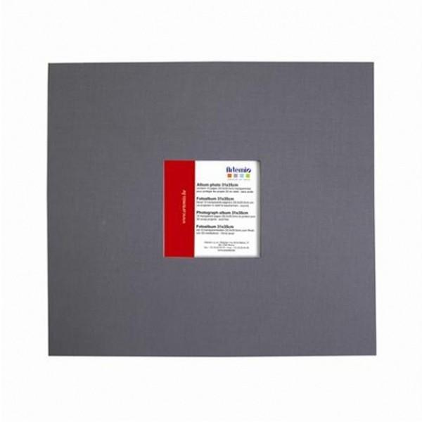 album photo grand format 30 x 30 cm gris fonc. Black Bedroom Furniture Sets. Home Design Ideas