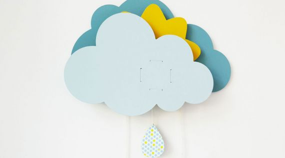 DIY - Mobile Music Box Clouds