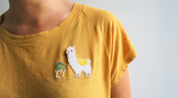 DIY : T-shirt Alpaga