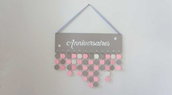 DIY: birthday calendar