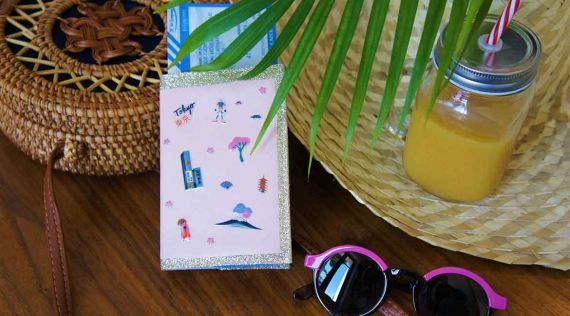 DIY: Passport protector Japan