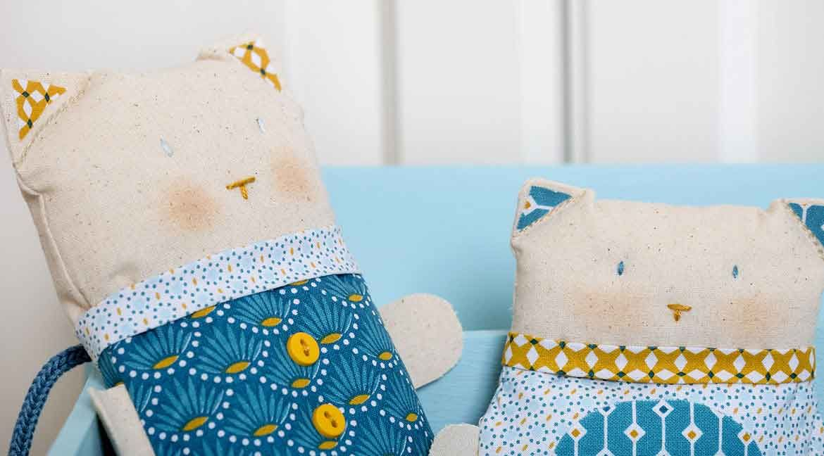 DIY : Gaspard the cat